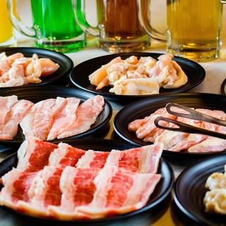 120分焼肉食べ放題は1759円(税別)~!