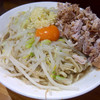 ラーメン髭 - 料理写真:油そば・ニンニク(850円)