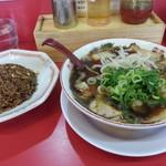 麺対軒 - ラーメンセット2018.1.18