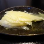 鮨 恵三 - ガリ