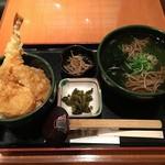 御鷹茶屋 - 天丼セット