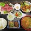 中京 - 料理写真:鯉の唐揚げ定食 1,300円。      2017.12.27