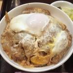 79679672 - 【料理】スペシャルカツ丼!これこそ最高の卵とじカツ丼!!