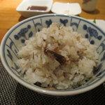祇園たかしるや - 塩サバご飯
