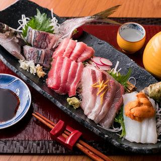 豊洲直送の新鮮の魚!