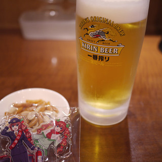 上海楼 - ドリンク写真:生ビール~☆