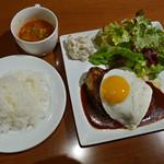 肉バルCo-Lab - 特製沖縄産あぐーハンバーグセット
