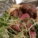 こうね - 和牛みすじのステーキ。