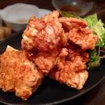 絲Cafe - 鶏の唐揚げ&ポテトフライ(スイチリ&バジルマヨ)