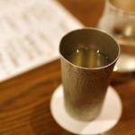 ぽんしゅや 三徳六味 - 錫杯、家にも欲しい