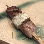 寿司一 - 蛇腹の串焼き