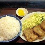 南京亭 - しょうが焼定食大盛