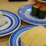 無添くら寿司 - 料理写真:いくら・たまご・生たこ