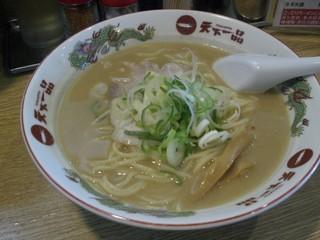 天下一品 米子店 - 天下一品・こってりラーメン大盛り¥750
