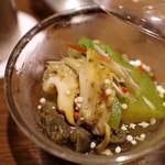 ぽんしゅや 三徳六味 - バイ貝と冬瓜、うめぇ