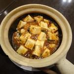 紅虎餃子房 - 料理写真:マーボーあんかけ土鍋ご飯(980円・別)