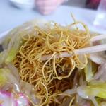 九州ラーメン友理 - 細めんパリパリの皿うどん