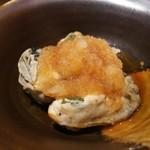 牡蠣屋うらら - 牡蠣のタタキ