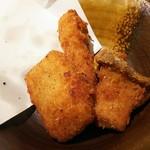 牡蠣屋うらら - エリンギのスパイシー揚げ