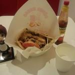 The Kebab Factory - ドネルケバブサンド(ミックス、648円)