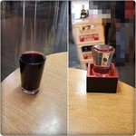 立飲み たきおか - 赤ワイン&高清水純米酒