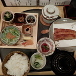 Miyagawahonten - 鰻蒲焼き御膳