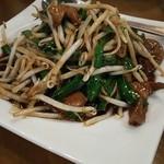 香香飯店 - レバニラ炒め