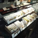 田中清月堂 - 店内の雰囲気