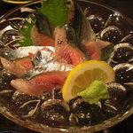 味祭り 一歩 - 秋刀魚の造り。