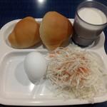 フェリーきょうと2 - 無料サービスの朝食