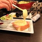 元町珈琲  - 料理写真:目の前でかけてくれます