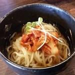 79702571 - ランチの冷麺(キムチに変更)