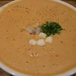 麺屋はやぶさ - オマール海老湯