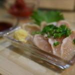 すずめ - 鶏むね肉のたたき