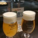 79704229 - まずはビールで乾杯❤500円とリーズナブル☆