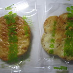 天神煎餅 大木屋 - 天神煎餅薄焼きと胡麻