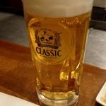 79705625 - 生ビール(クラシック)560円