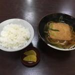 信州 - ご飯+きつねうどん