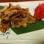 Omusubitawara - 鶏皮
