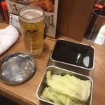 79709494 - ビールとサービスのキャベツ