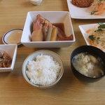 TAKEDA屋 - 野菜と魚の炊き合わせランチ