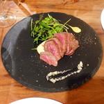 トラットリア・フィーロ - しんたま肉のタリアータ