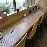 ひょうごイナカフェ - カウンター席もあります(2018.1.21)