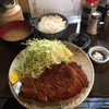 波止場 - 料理写真:上ロースとんかつ定食@1,700円