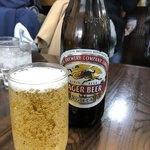 北京 - 瓶ビール(600円)