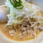 青唐爽麺 ハルク - Green担々麺+玉子