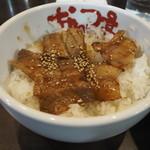 なんつッ亭 - 焼肉丼(セット)