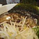 なんつッ亭 - モヤシ、スープ、海苔