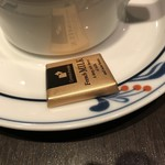 カフェ ルンバルンバ - チョコレート。       美味し。