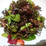 ジャッジョーロ銀座 - 名物15種類のハーブサラダ